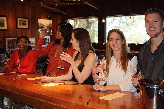 Visite du pays viticole de Santa...