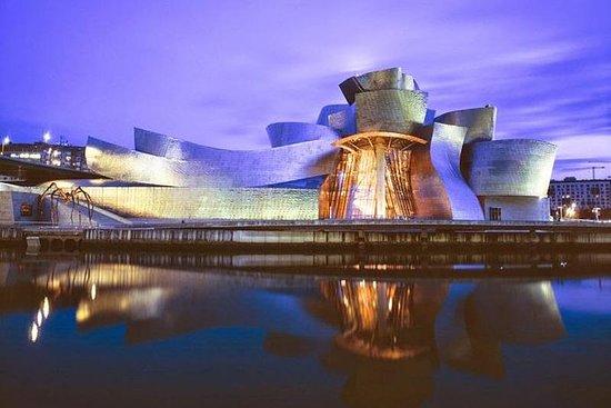 Bilbao Guggenheim Museum Utvendig og...