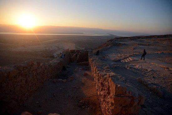 Visite à l'aube: Masada, réserve Ein...