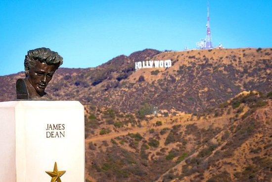Vandringstur med Hollywood-skylten ...