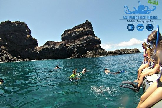 Snorkeling à Ponta de Sao Lourenço...