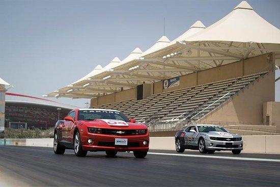 Chevrolet Camaro Drag Racing...