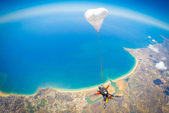 Saut en parachute à proximité...