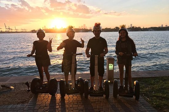 South Beach Segway Tour At Sunrise By Florida Trikke