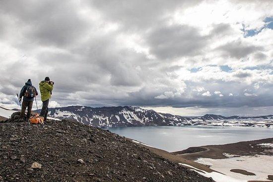 AkureyriからAskja Calderaツアー