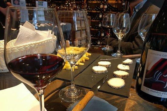 Degustación de vinos y quesos en París