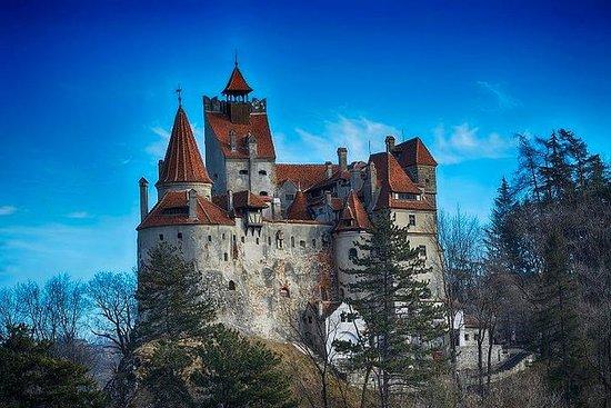 Bran Castle Rasnov fästning och Brasov