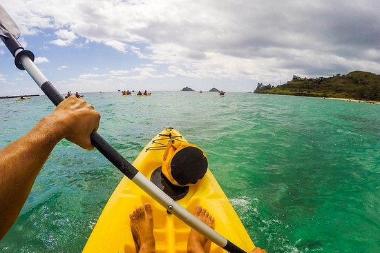 凯鲁瓦海滩自驾游皮划艇冒险到Mokulua群岛