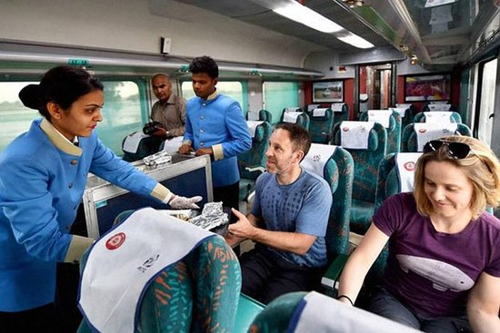 Taj Mahal Tour De Trem
