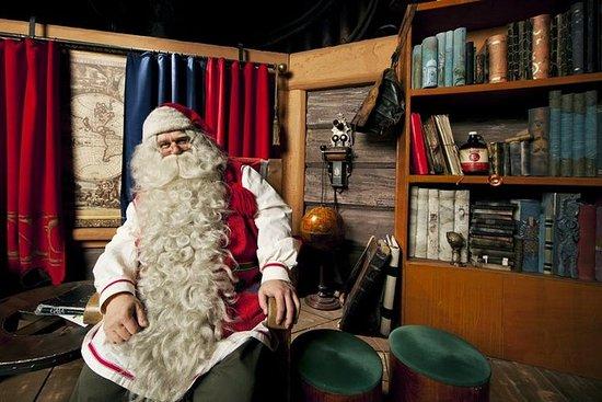 Tur til Polarsirkelen, Santa Claus...
