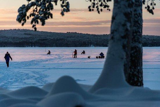 从凯米钓冰的雪鞋之旅