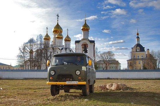 Sergiev Posad and Pereslavl Driving...