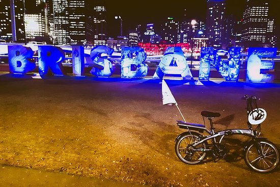 Brisbane City Light Electric Bike Tour