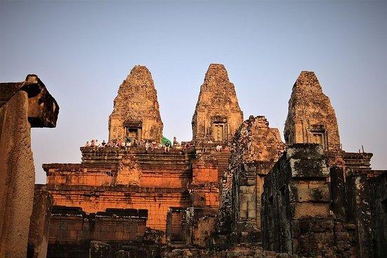 Beste templer med solnedgang på en dag
