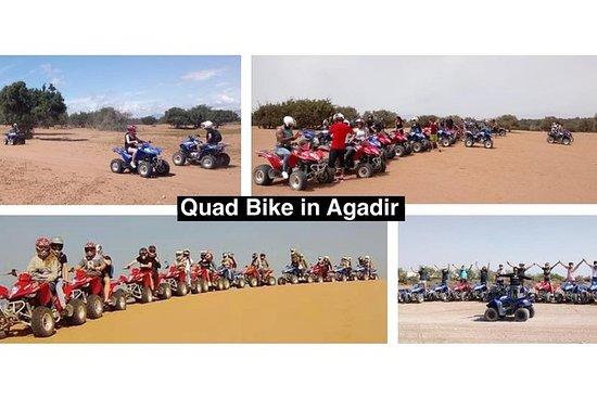 阿加迪爾的四輪摩托車