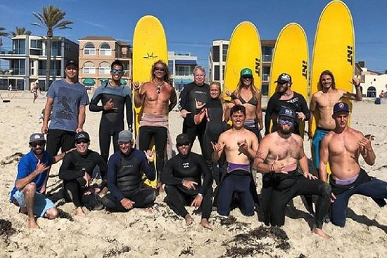 Follow-up Surf Lesson In Marin