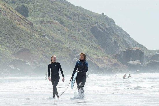 Cours de surf privés à Stinson Beach...