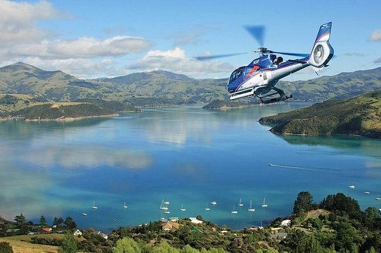 Akaroa Helicopter Tour da Christchurch
