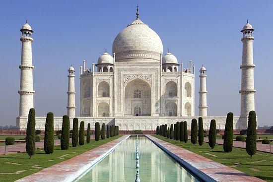 Samma dag Taj Mahal med lunch och guide