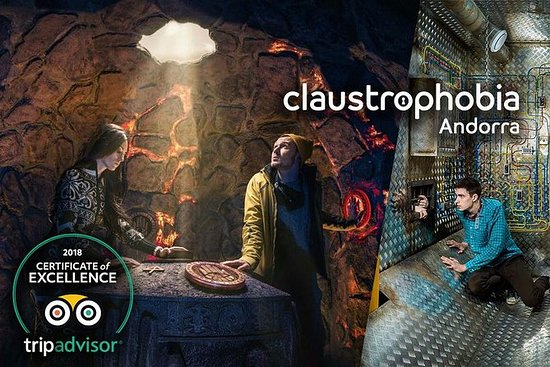 Escape Room en Claustrophobia Andorra