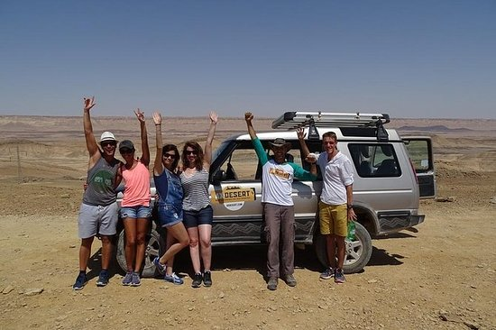 Ramon Crater in a Nutshell 4X4 para...