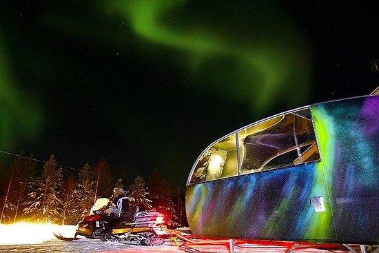 AURORA NEST: Maison de verre arctique...