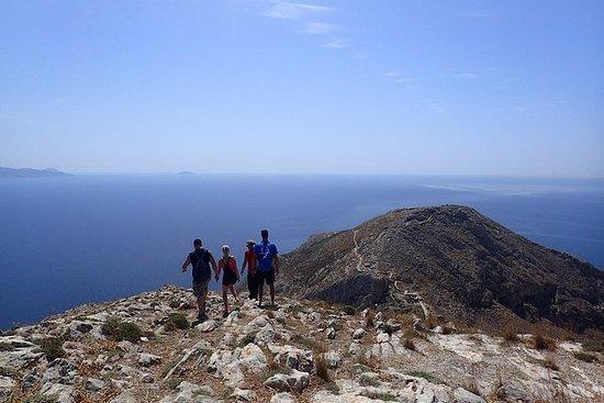 Santorin: Randonnée au sommet de l'île