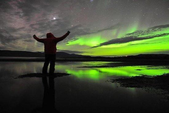 Reflejos de la aurora boreal