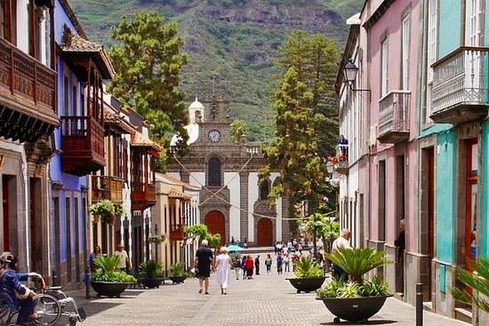 Gran canaria shoppig day in san mateo...
