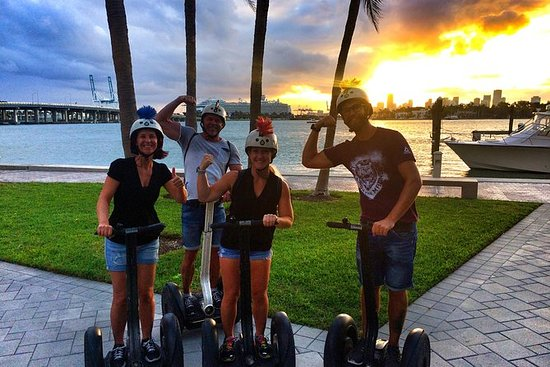South Beach Segway Tour At Sunset By Florida Trikke