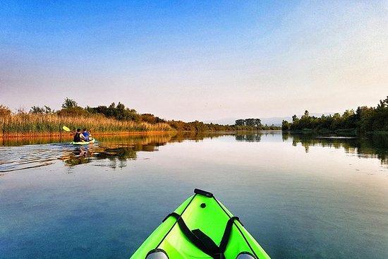 Kayak safari on Cetina river