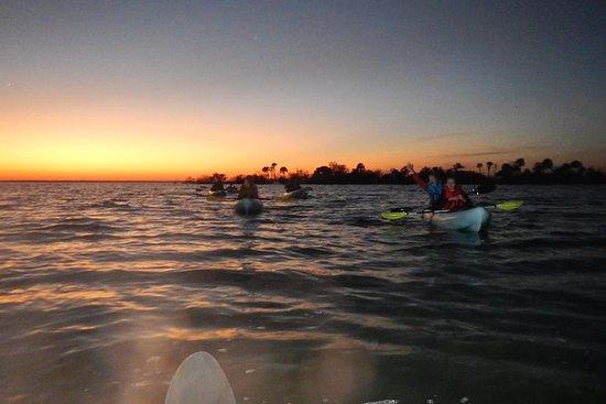 Kayak al tramonto con bioluminescenza