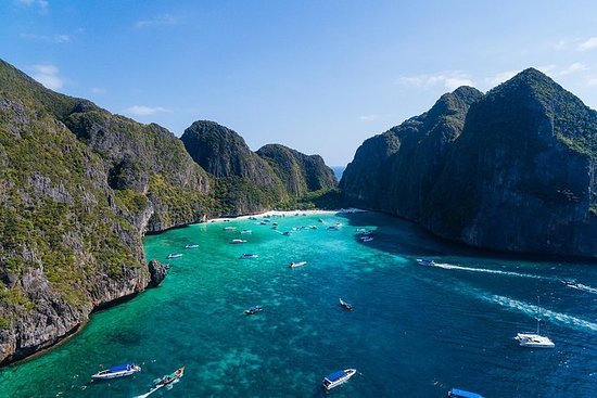 Phi Phi Later Rise by Speedboat ...