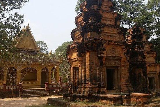 Cena a la luz de la luna y narración de cuentos en el templo de la era de Angkor: Moonlight Dinner and Storytelling at Angkor-era Temple