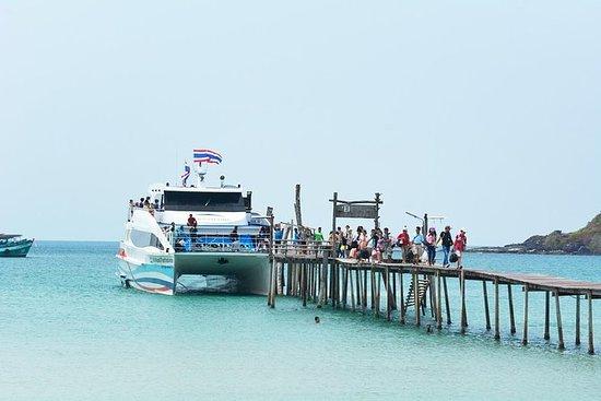 芭堤雅到象岛的Boonsiri巴士和高速双体船