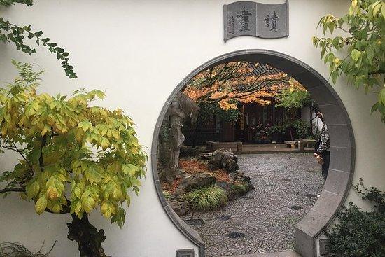 Paseo en bicicleta por el jardín meditativo: jardines japoneses y chinos: Meditative Garden Bike Tour: Japanese and Chinese Gardens