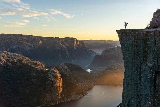 Preikestolen Sunset Hike & Fjord...