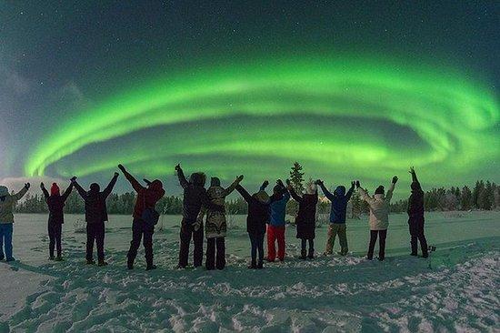 Northern Lights Hunting By Minivan...