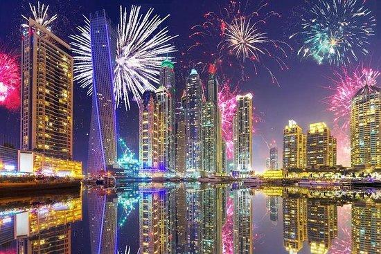 Crucero con cena de Nochevieja en Dubai Marina: Dubai Marina New Year's Eve Dinner Cruise
