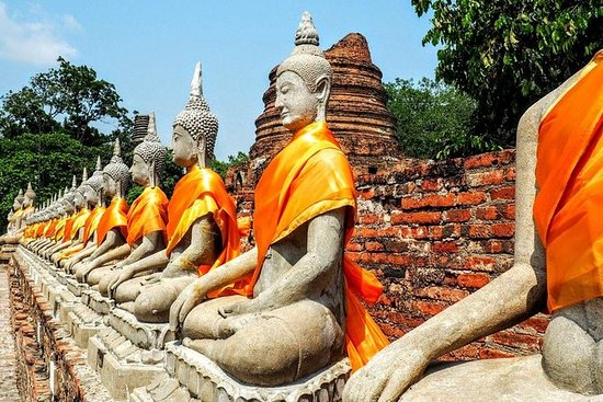 Ayutthaya Ancient Capital Tour from...
