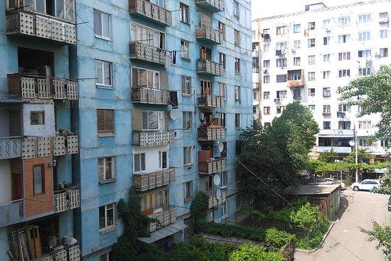 Sovjetiske forstæder i Tbilisi...