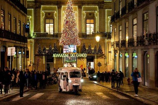 Tour de luces de Navidad de Lisboa...