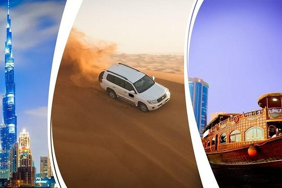 4 Berømt tur Dubai City tur, ørken...