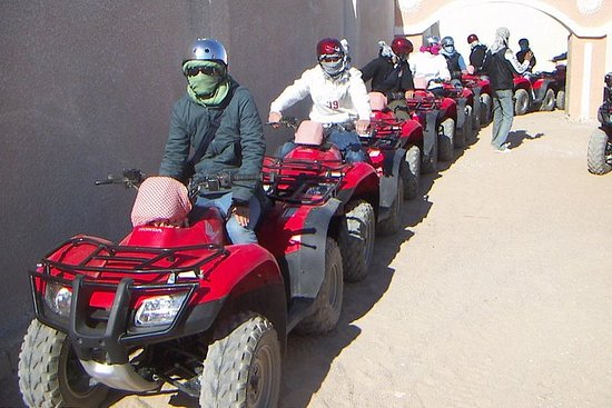 Quad Bikes Tour with Dinner and Sun...