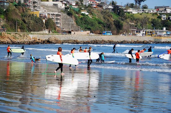 サーフィン初級クラス&ランチツアー(コンコン)