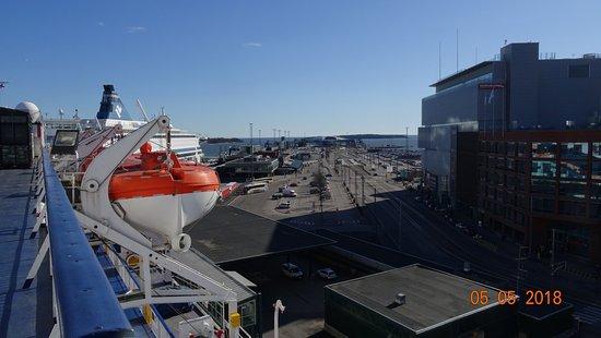 הלסינקי, פינלנד: Хельсинки, Западный порт, Länsiterminaali-1 (май 2018 года)...