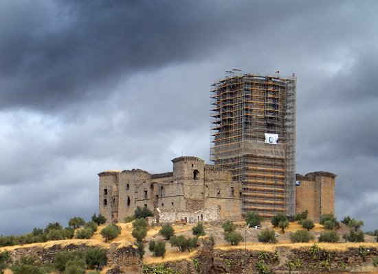 Belalcázar, España: Castle under restoration 2018