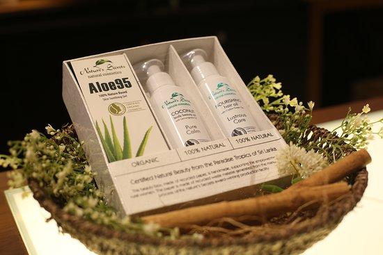 Nature's Secrets Beauty Spa: 100% Natural Aloe Gel & Body Oils