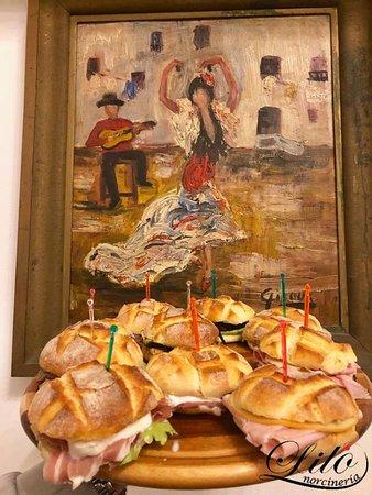 Una serata a base di paninetti farciti con prodotti di Norcia