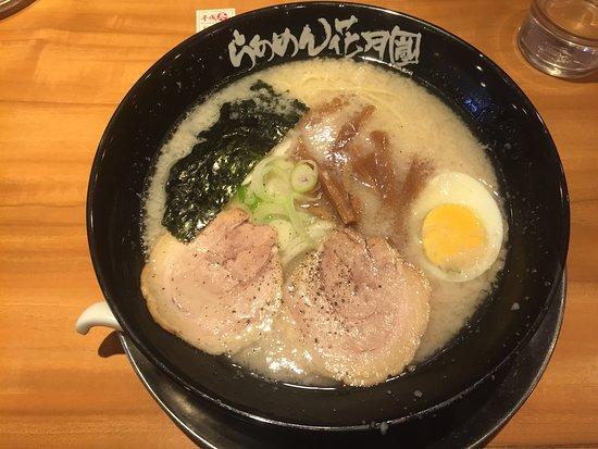 Ramen Kagetsu Arashi Asakusa Kaminarimon: Shio ramen (pork-based)